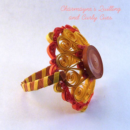 How to make Decorative Quilled Basket/ DIY Paper Basket/ Paper ... | 540x540