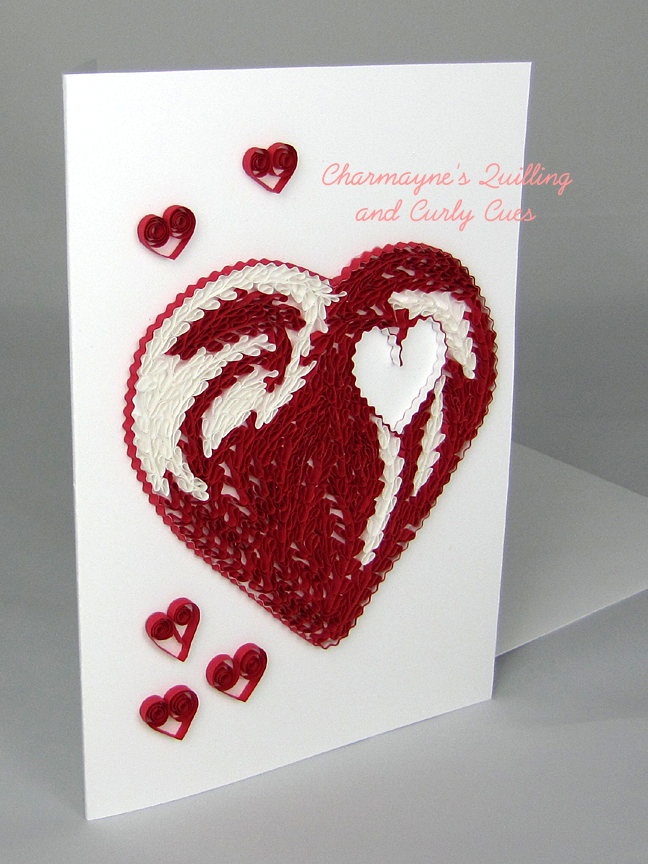 Charmayne S Quilling And Curly Cues Cards